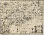 A Map of New England, and Nova...