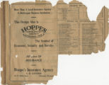 Index and Advertisement: Hoppe's...