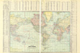 Map of the World on Mercator's...