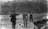 Sportsmen with Dog