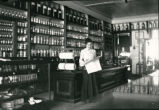 Pharmacy interior