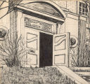 Library School building drawing