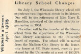 Library School changes