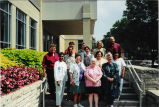 Faculty and staff retreat at the Pyle Center 1998