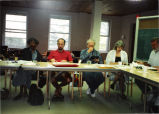 Planning retreat at the Friedrick Center 1992