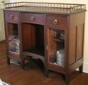 Sideboard attributed to Charles Newell, Green Bay, ca. 1886.