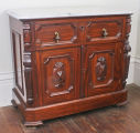 Washstand, Janesville Furniture Co., 1871-1876.