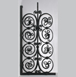 Wrought iron grille, Cyril Colnik, Milwaukee, ca. 1913