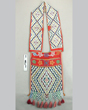 Loom-beaded bandolier bag, possibly Menominee or Potawatomi, Great Lakes region, late nineteenth century.