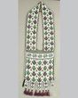 Loom-beaded bandolier bag, possibly Ojibwe or Potawatomi, Wisconsin, late nineteenth or early twentieth century.