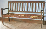 Bench collected in Washington County, probably mid-nineteenth century.