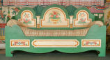 Sofa built by Albert Grutzmacher and painted by Schomer Lichtner for the Cottage at Ten Chimneys, ca. 1930.