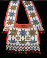 Loom-beaded bandolier bag, possibly Menominee or Ho-Chunk, Great Lakes region, late nineteenth or early twentieth century.