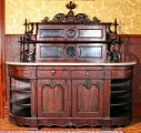 Sideboard marked by C. H. Tyler and Co., St. Louis, 1870-1880.