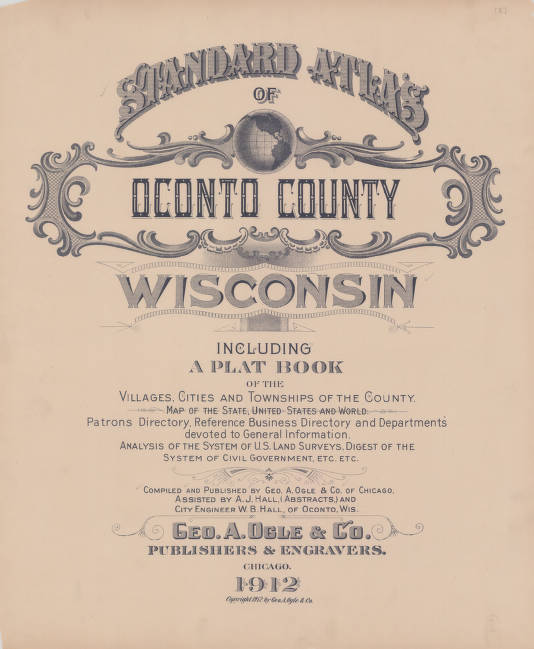 le Page - Maps and Atlases in Our Collections - Wisconsin ... City Of Oconto Wi Map on city of middleton wi map, city of kaukauna wi map, city of marinette wi map, city of elkhorn wi map, city of waukesha wi map, city of rhinelander wi map, city of west bend wi map, city of racine wi map, city of shawano wi map, city of superior wi map, city of bayfield wi map, city of muskego wi map, city of wausau wi map, city of green bay wi map, city of fort atkinson wi map, city of la crosse wi map, city of fond du lac wi map, city of waupaca wi map, city of eau claire wi map, city of milton wi map,